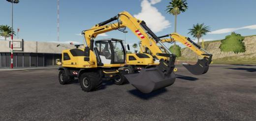 Photo of FS19 – Liebherr A914C Sdm V1.0.0.2