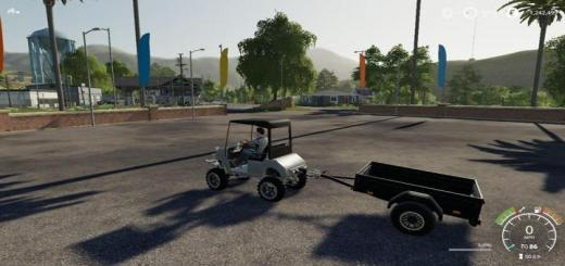 Photo of FS19 – Lifted Offroad Golfcart V1