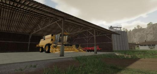 Photo of FS19 – Machineryhall V1