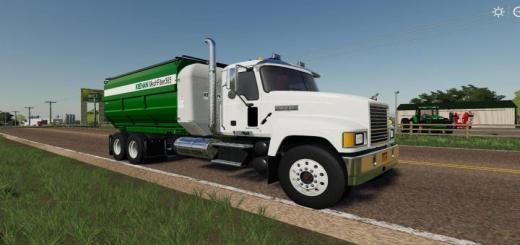 Photo of FS19 – Mack Pinnacle Feed Truck V1