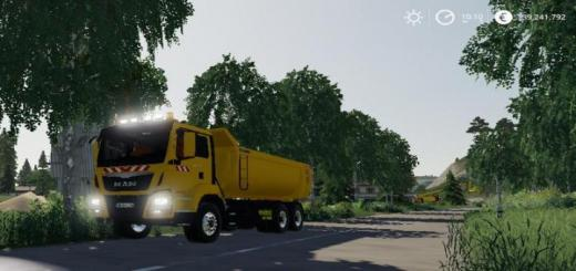 Photo of FS19 – Man Tgs 6X4 Benne Tp V1.5
