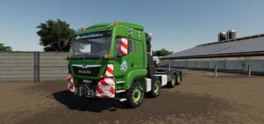 Photo of FS19 – Man Tgs Heavy Duty Truck V1.1