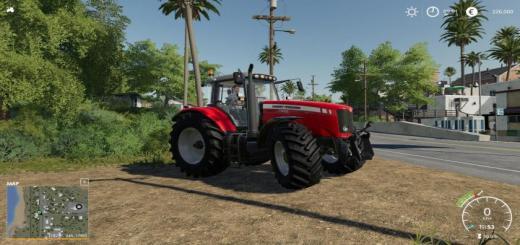 Photo of FS19 – Massey Ferguson 7400 Tractor V1.0.0.1