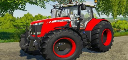 Photo of FS19 – Massey Ferguson 7700 Tractor V1.1