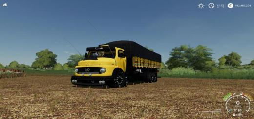 Photo of FS19 – Mercedes-Benz 1513 Truck V1