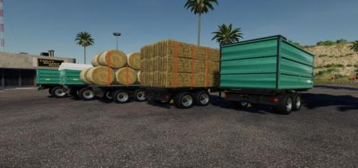 Photo of FS19 – Muenz Trailer Pack V1