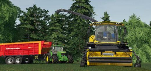 Photo of FS19 – New Holland Fr 780 (Manual Pipe) V1.0.1