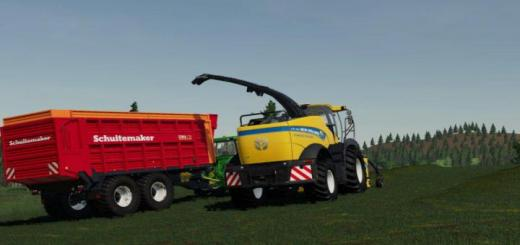 Photo of FS19 – New Holland Fr 780 (Manual Pipe) V1