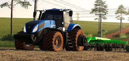 Photo of FS19 – New Holland T8 Br Tractor V1