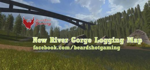 Photo of FS19 – New River Gorge Logging Map V1.1