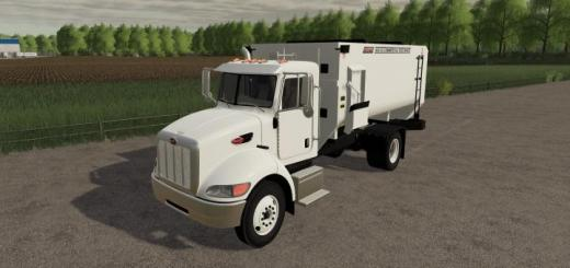 Photo of FS19 – Peterbilt Feed Truck V1