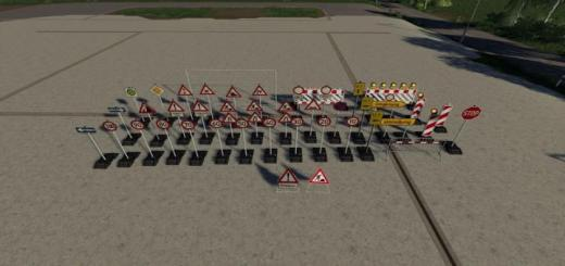 Photo of FS19 – Placeable Barrier Pack V4