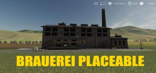 Photo of FS19 – Placeable Brauerei V1.0.5