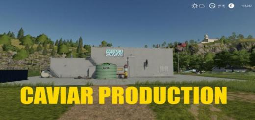 Photo of FS19 – Placeable Caviar Production V1