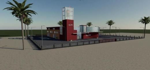 Photo of FS19 – Placeable Coca Cola Factory V1