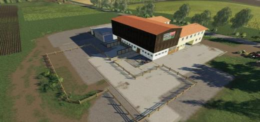 Photo of FS19 – Placeable Dreiseithof V1