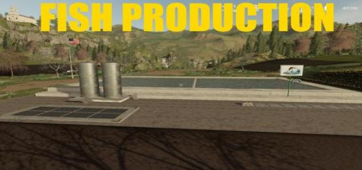 Photo of FS19 – Placeable Fish Production V1.0.5