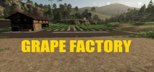 Photo of FS19 – Placeable Grape Factory V1