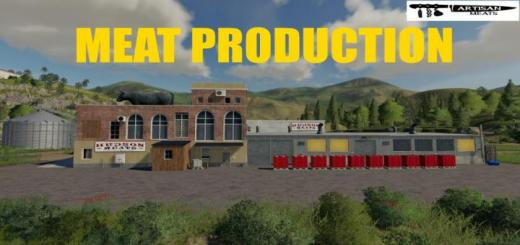 Photo of FS19 – Placeable Meat Production V1
