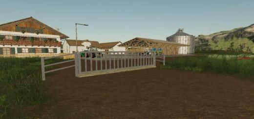 Photo of FS19 – Placeable Metal Gate V1