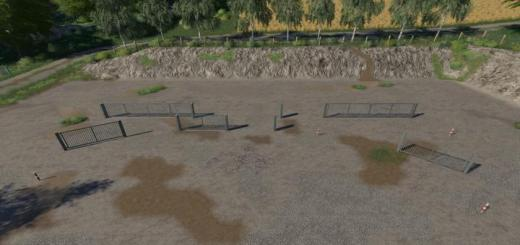 Photo of FS19 – Placeable Metal Gates And Fences V2.1