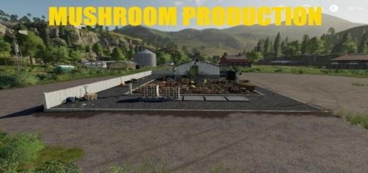 Photo of FS19 – Placeable Mushroom Production V1