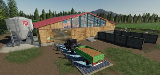 Photo of FS19 – Placeable Organic Pigsty V1.9