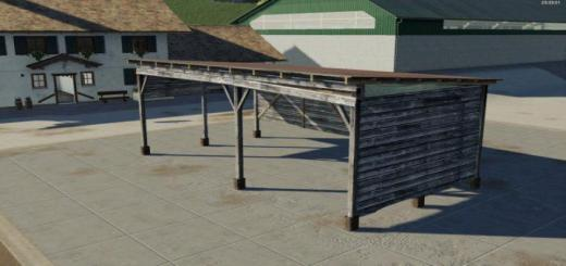 Photo of FS19 – Placeable Shelter V1.1