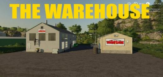 Photo of FS19 – Placeable The Warehouse V1