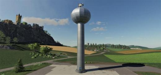Photo of FS19 – Placeable Watertower V1