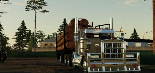 Photo of FS19 – Pole Trailer And Jeep V2