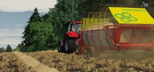 Photo of FS19 – Pottinger Euroboss 330T Trailer V1