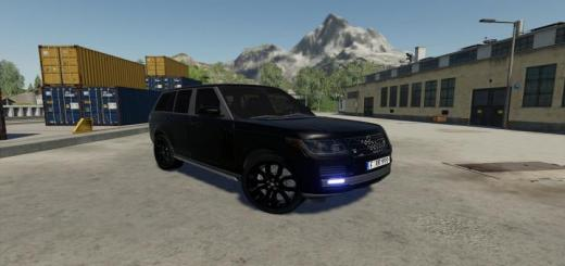 Photo of FS19 – Range Rover Vogue Black Edition V1