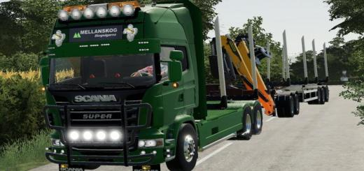 Photo of FS19 – Scania R730 Log Truck V1