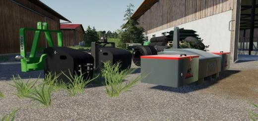 Photo of FS19 – Selfmade Weight Pack V1