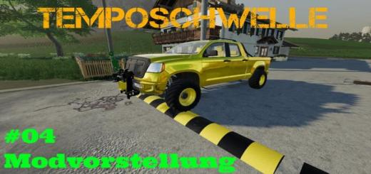 Photo of FS19 – Speed Bump V5.0A