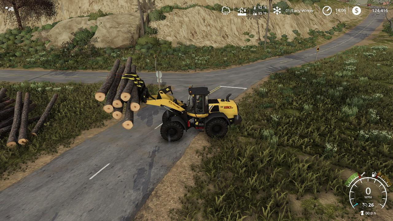 Photo of FS19 – Stoll Log Fork Duo V1