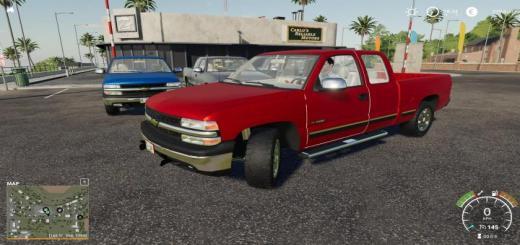 Photo of FS19 – 1999 Chevy Silverado 1500 Plow Startup V1