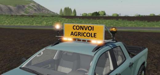 Photo of FS19 – Agricultural Convoy Panel V1