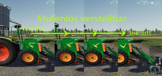 Photo of FS19 – Amazone D8-30 Varia V1