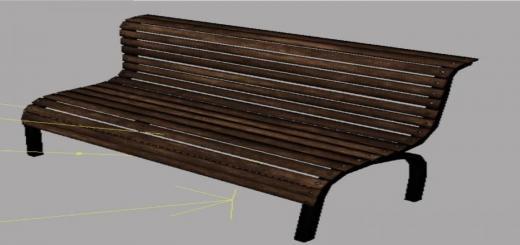 Photo of FS19 – Bench Prefab V1