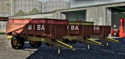 Photo of FS19 – Benne Biba 10T Trailer V2