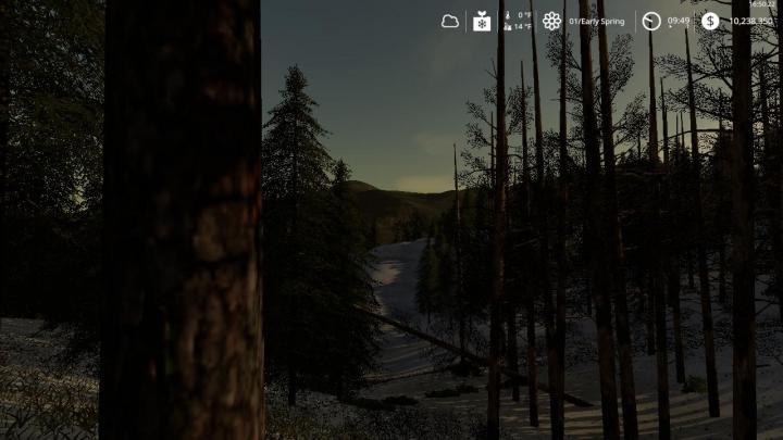FS19 - Black Mountain Map V2