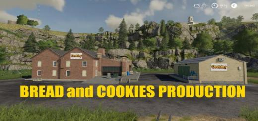Photo of FS19 – Bread And Cookies Production V1