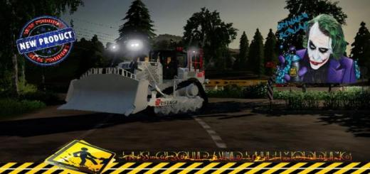 Photo of FS19 – Bulldozer D8T Eiffage V1.5