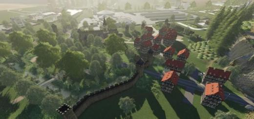Photo of FS19 – Burghausen2K19 Map V1.0.0.1