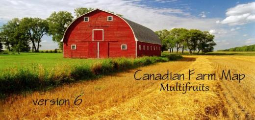 Photo of FS19 – Canadian Farm Map V6
