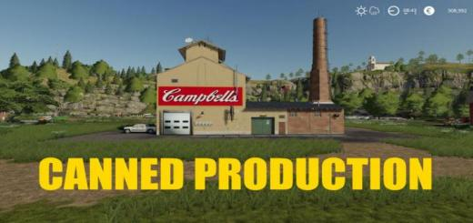 Photo of FS19 – Canned Production V1