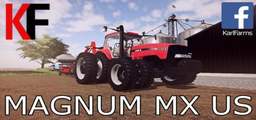 Photo of FS19 – Case Ih Magnum Mx Us Tractor V1