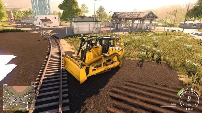 Photo of FS19 – Cat D8T Dozer Strobes V1